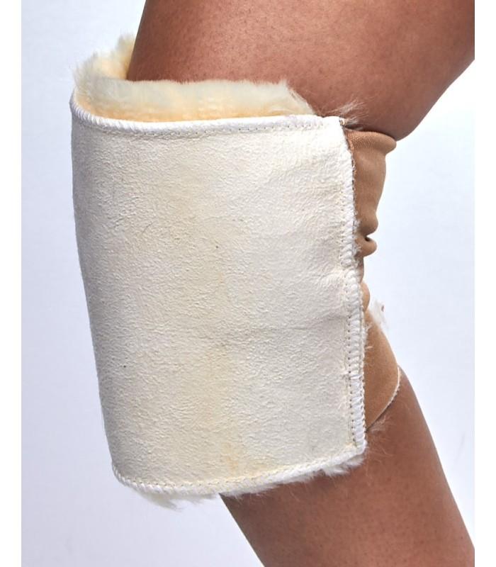 Sheepskin Knee Wrap Pad
