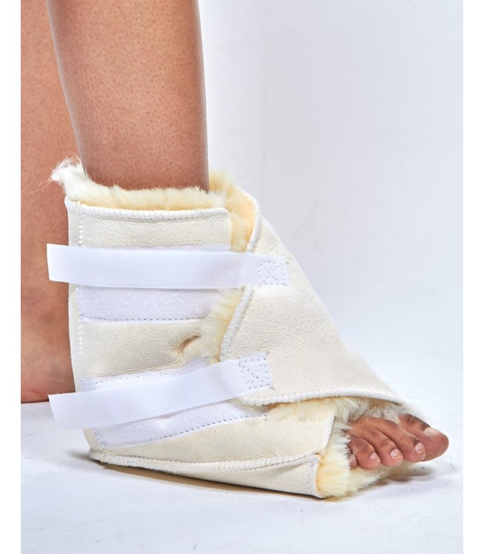 Sheepskin Heel Wrap Pad
