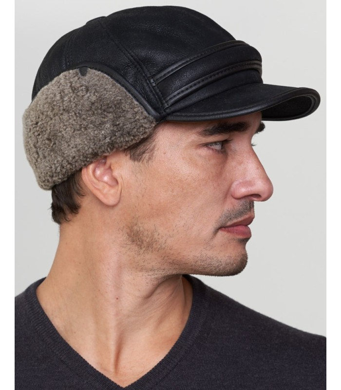 Fudd Captain Hat - Shearling Sheepskin