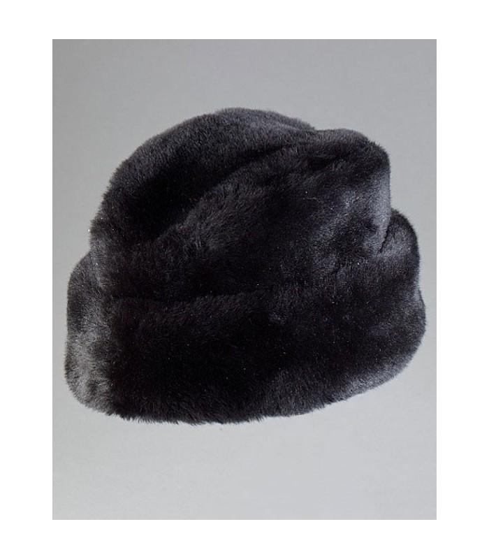 Black Russian Cossack Hat - Mouton Sheepskin