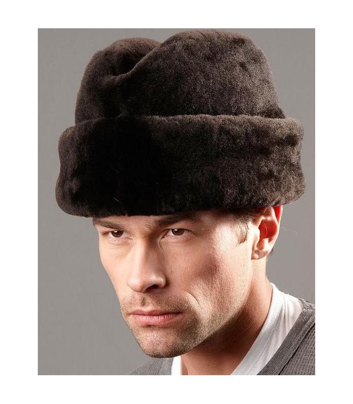 Brown Russian Cossack Hat - Mouton Sheepskin
