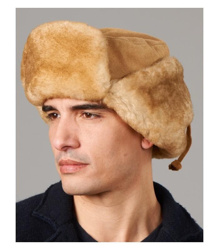 Yukon Russian Ushanka Hat - Sheepskin