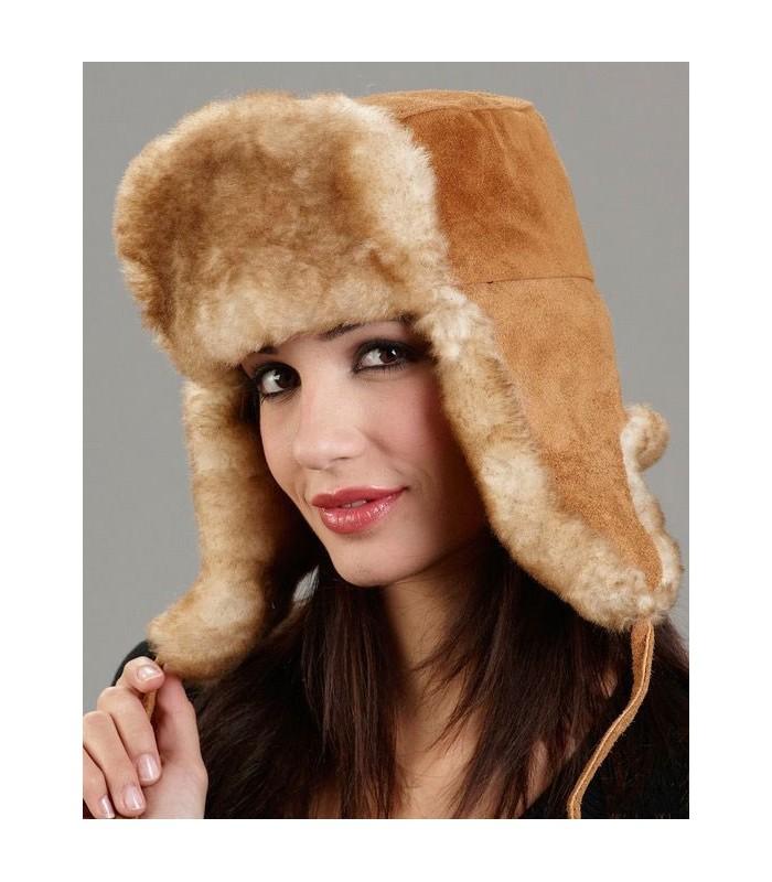 Women's Yukon Russian Ushanka Hat - Sheepskin