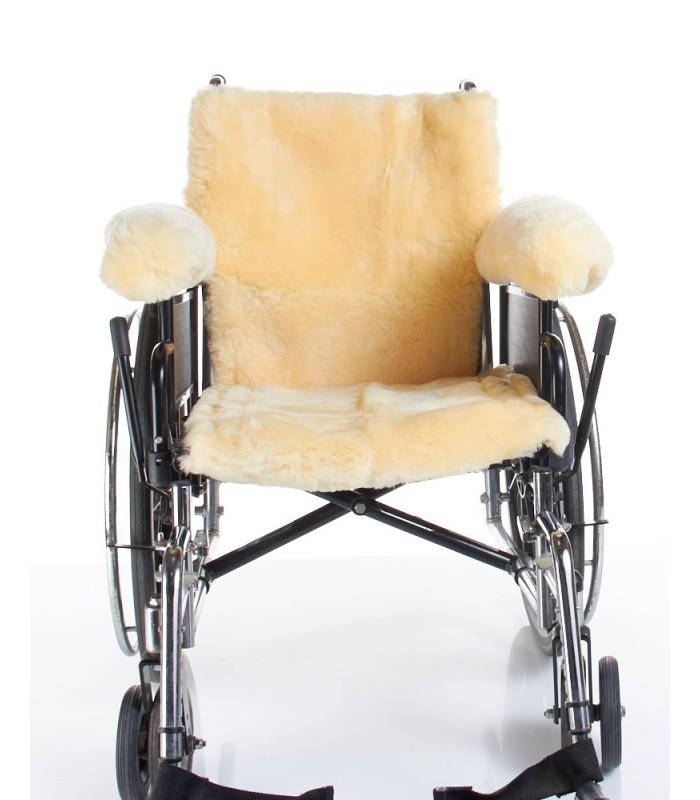 Medical Sheepskin Wheelchair Arm Covers