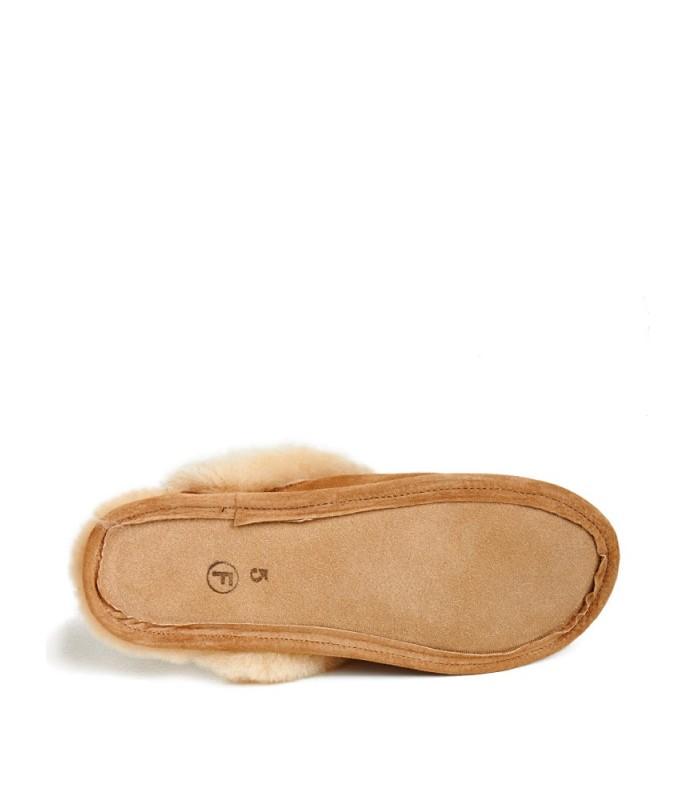 Women's Slide Shearling Sheepskin Slippers