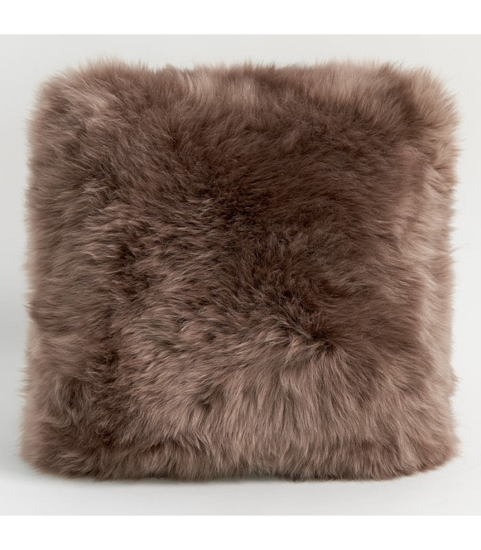 Double Sided Paco Longwool Sheepskin Pillow / Cushion