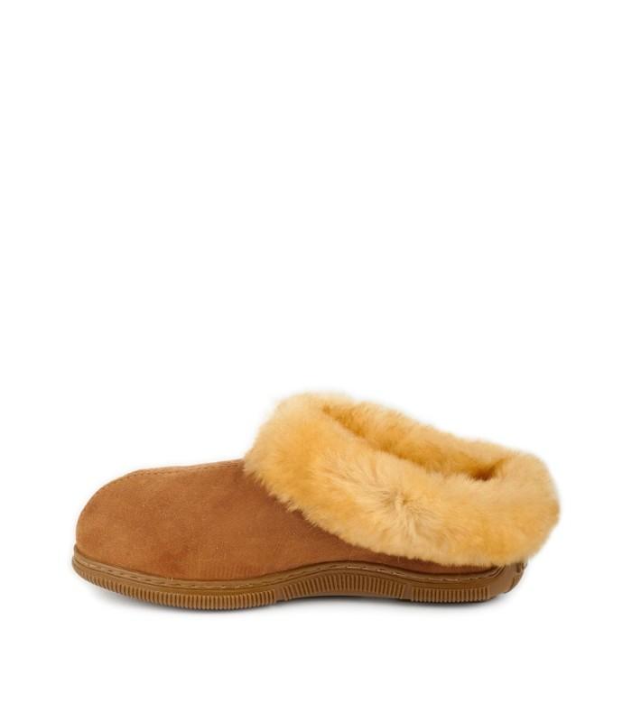 Extra Comfy Sheepskin Minnesota Clog Slipper