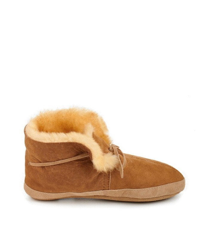 Extra Comfy Soft Sole Sheepskin Moccasin Slippers