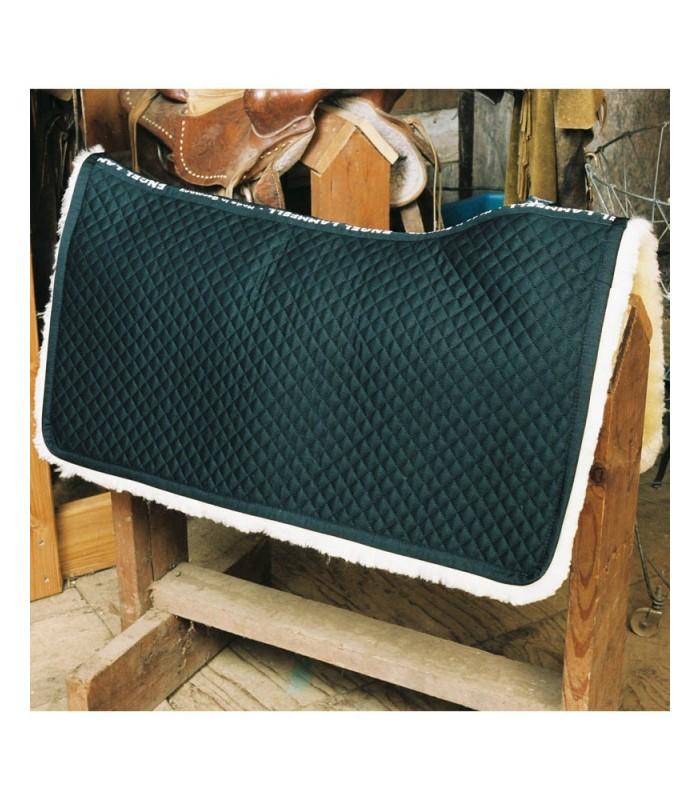 Fully Lined Sheepskin Western Saddle Blanket