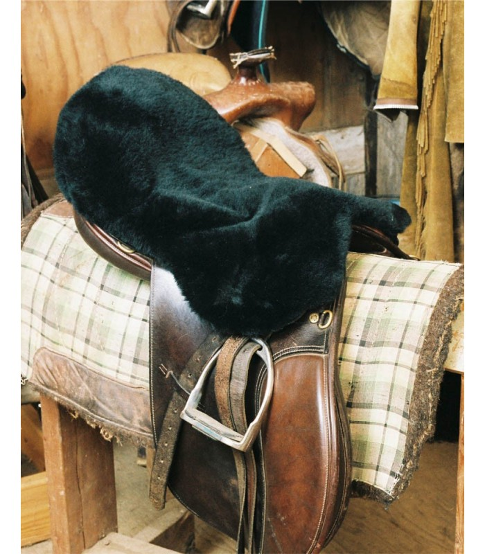 Sheepskin Saddle Seat Cover