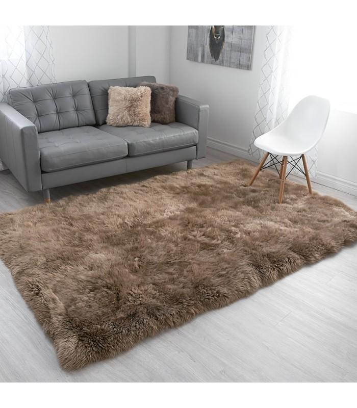 Extra Large Paco Sheepskin Area Rug (5x8 feet)