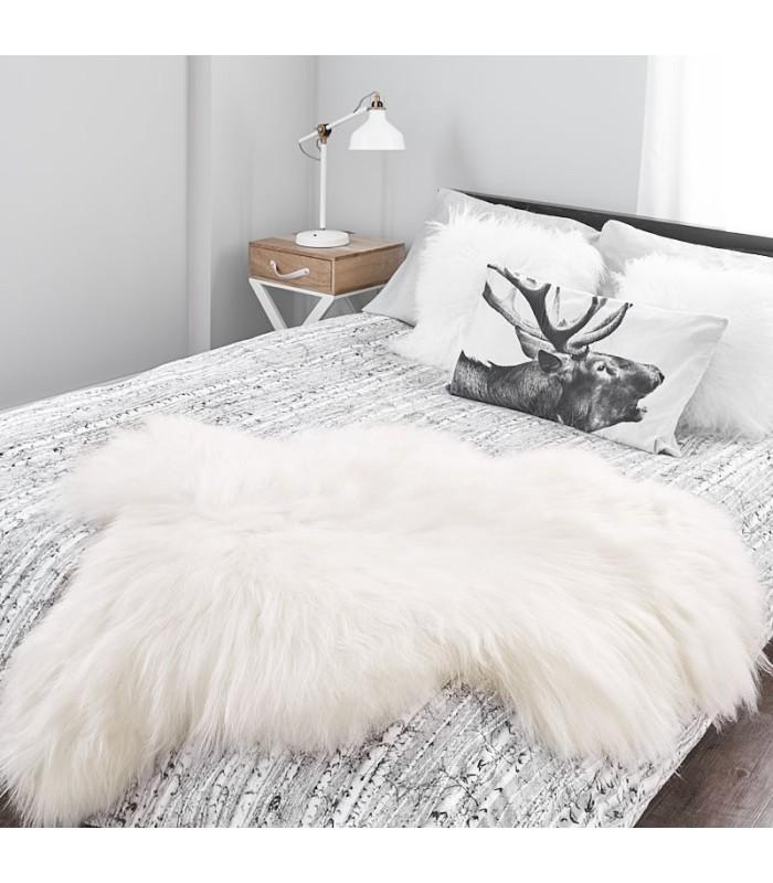 Icelandic Sheepskin in Natural White