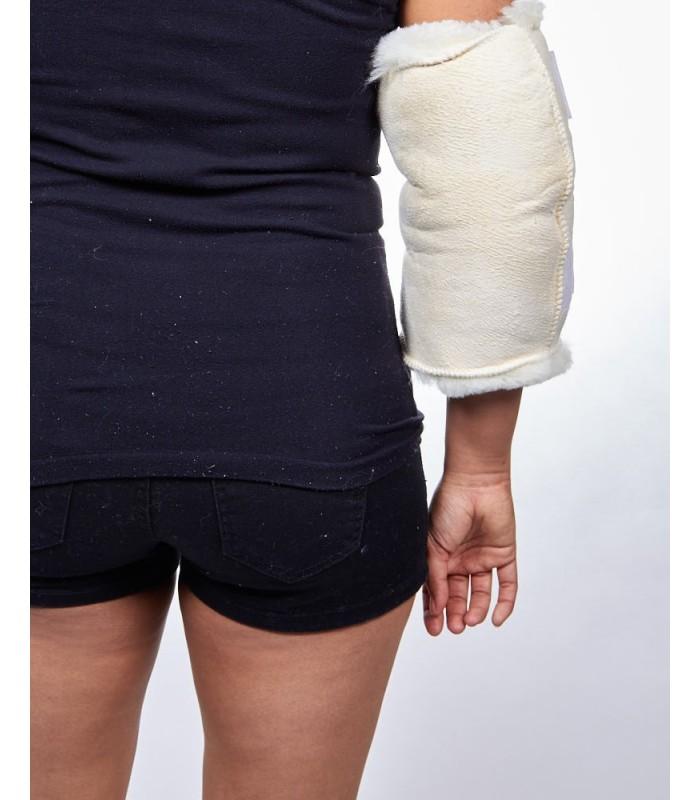 Sheepskin Elbow Wrap Pad