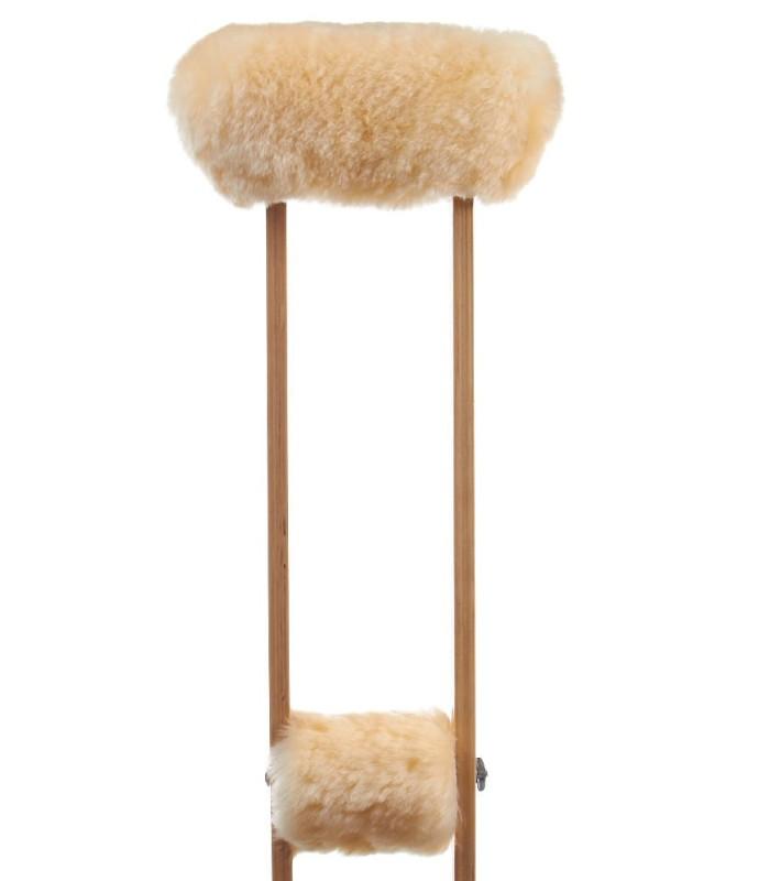 Sheepskin Crutch Covers