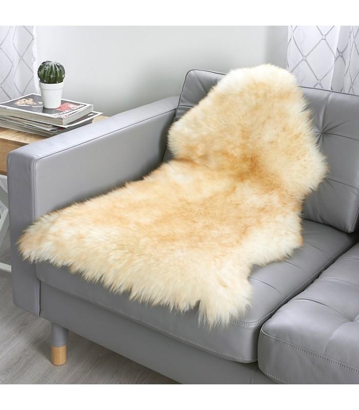 Golden Mist Sheepskin Rug (2x3.5 ft)